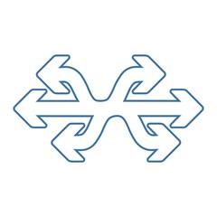 Универсальный, векторный значок, изолированный на белом фоне.