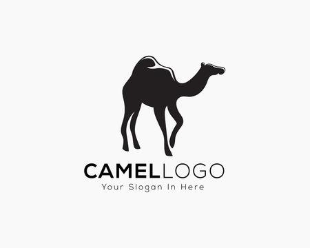 stand camel logo art