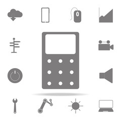 Calculator icon. web icons universal set for web and mobile