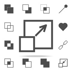 zoom sign icon. web icons universal set for web and mobile