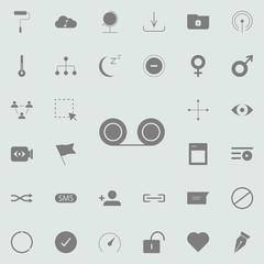 Push pin icon. web icons universal set for web and mobile
