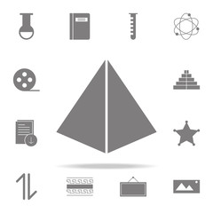 Pyramid icon. web icons universal set for web and mobile