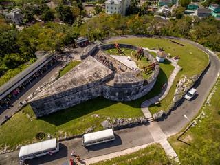 Fortification in Nassau Bahamas