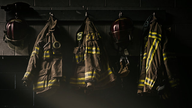 Firefighter helmet and protection gears
