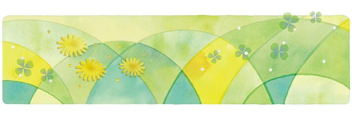 春の背景イラスト