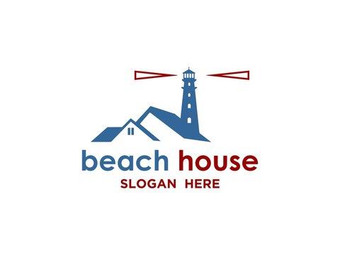 Beach house logo inspiration