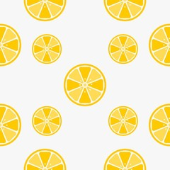Lemon pattern wallpaper vector icon design