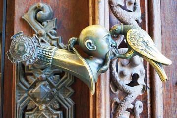 detail of hluboka castle door