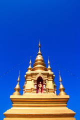 Wat Pak Mueang - Buddhist Temple , Chiang Mai Thailand