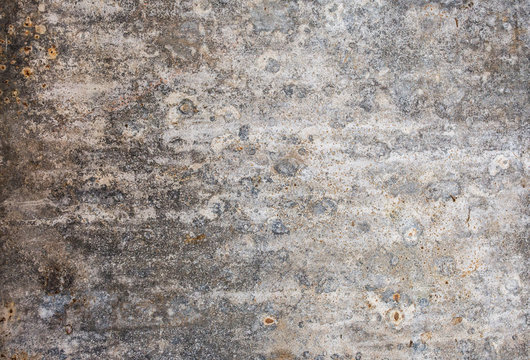 Cement concrete with scratches. Old background.
