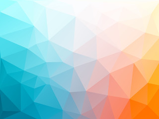 color triangular abstract background