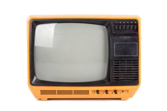 old retro TV