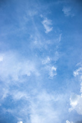 backgroung blue sky and white cloud