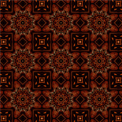 Abstract pattern with abstract geometric floral style. Repeating sample figure and line. For modern interiors design, wallpaper, textile industry.