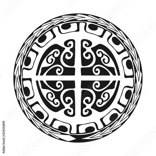 3c12d894a Maori / Polynesian Tattoo Style Ornament - Ready for Print and used for Stencyl  as Custom Artwork