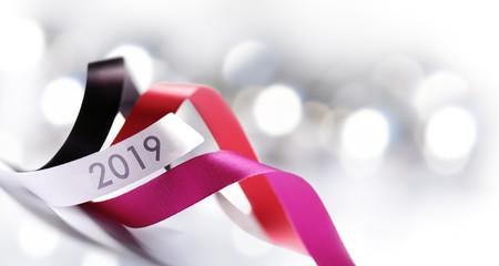 Art Christmas, New Year 2019 decoration