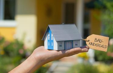 Baukindergeld beantragen und Haus bauen - Konzept