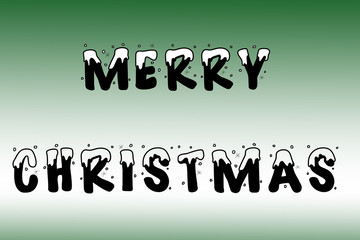 Merry christmas holiday wishes wallpaper