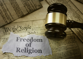 Freedom of Religion concept