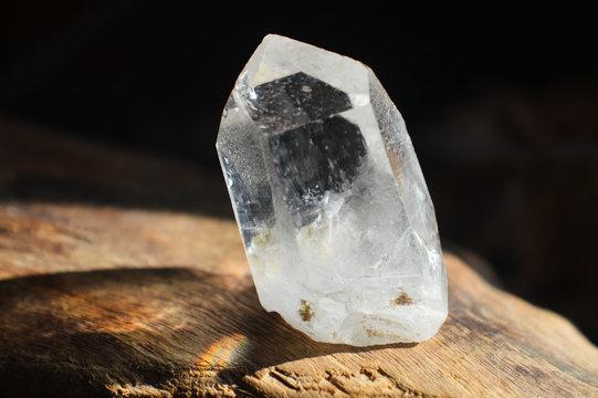 crystal quartz specimen