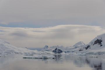 Foto op Canvas Antarctica Beautiful Antarctic landscape