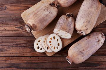Raw Brown Organic Lotus Root