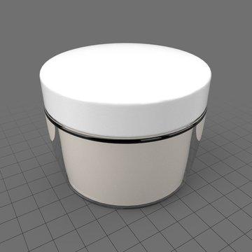 Face cream jar