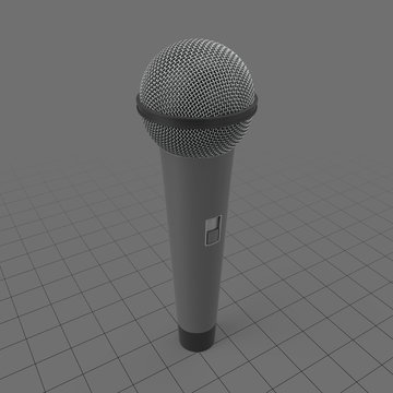Traditional microphone
