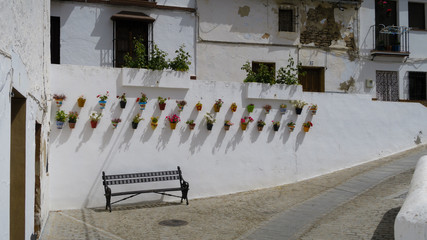 Village of the Comarca of white villages of Cádiz called Setenil de las Bodegas