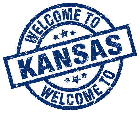 welcome to Kansas blue stamp