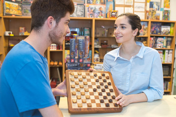buying a game of chess