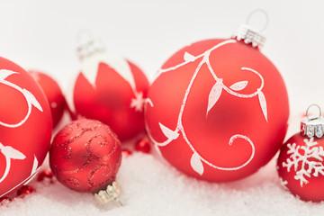 Weihnachten Hintergrund Kugel