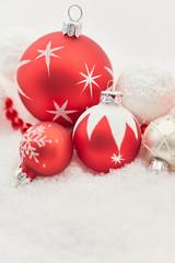Winterliche Karte zu Weihnachten