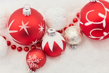 Christbaumkugel zu Weihnachten