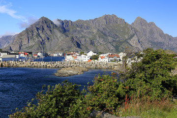 Old town in Lofoten - Norway