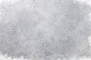Christmas stone background with snow