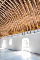 Charpente du refectoire de l'Abbaye de Cluny