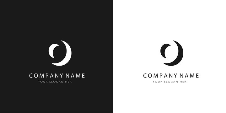 o logo letter modern design