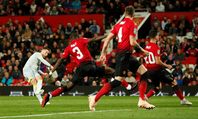 Carabao Cup - Third Round - Manchester United v Derby County