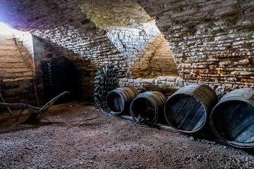 Caves du Château de Cormatin en Bourgogne