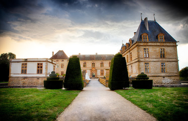 Le Château de Cormatin en Bourgogne