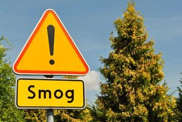 Fototapeta Uwaga smog obraz