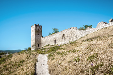 Old Genoese fortress in Feodosia, Crimea