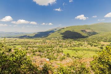 Foto op Canvas Meloen Landscape of Abruzzo, Italy