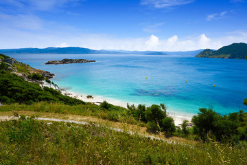 Nostra Senora beach in Islas Cies islands of Vigo