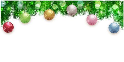 クリスマス モミの木 冬 背景
