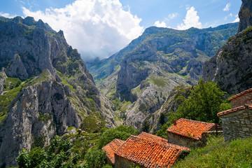 Naranjo de Bulnes peak Urriellu in Picos de Europa