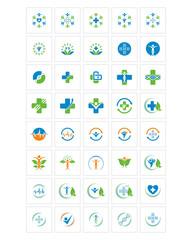 medical care icon image vector icon logo symbol set