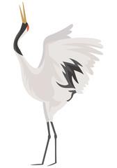 鶴のイメージイラスト