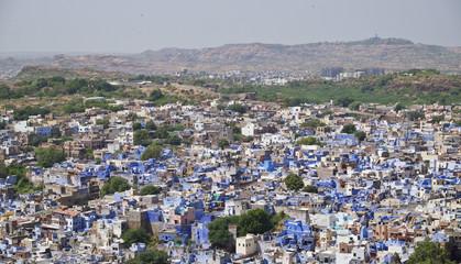 A city panorama of Jodhpur